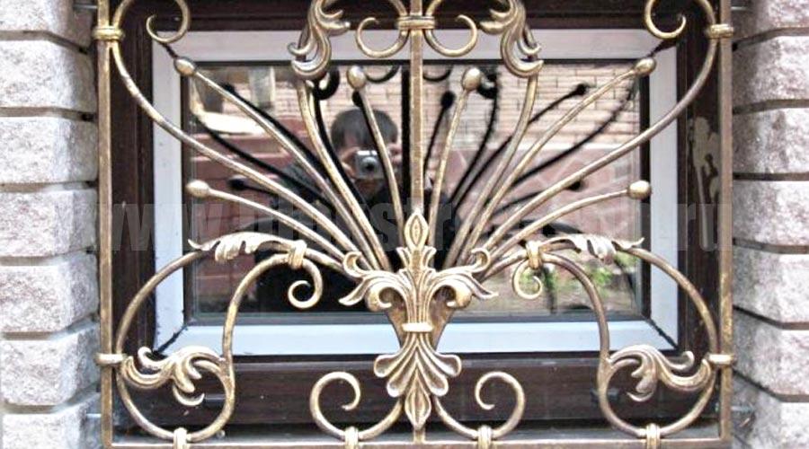 декоративная решетка на окно