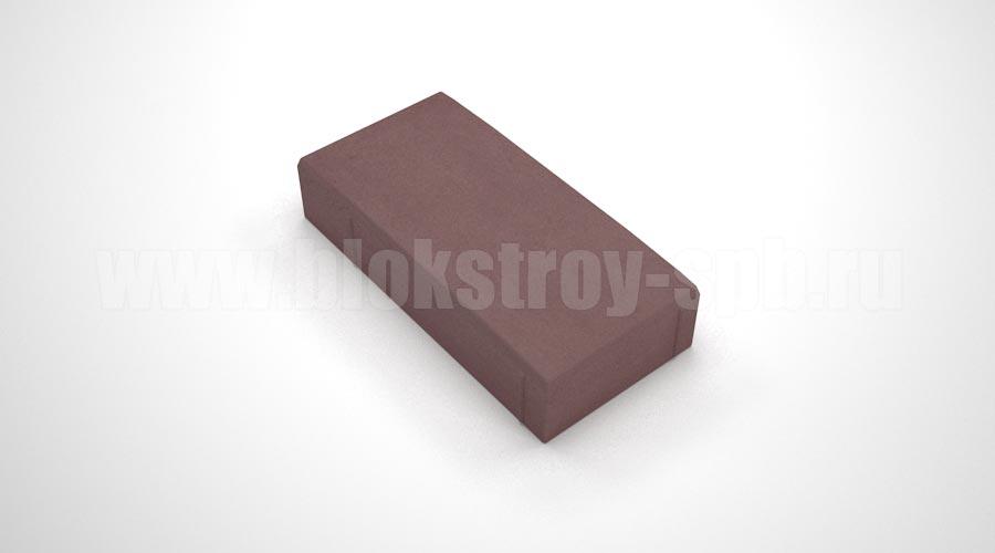 """Тротуарная плитка """"Английский булыжник"""" коричневая"""