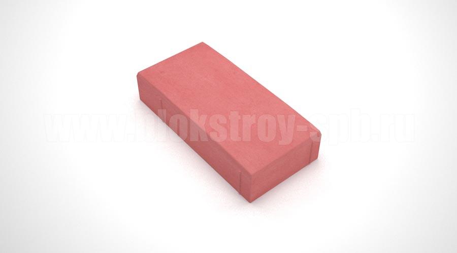 """Тротуарная плитка """"Английский булыжник"""" красная"""