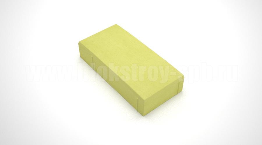 "Тротуарная плитка ""Английский булыжник"" жёлтая"