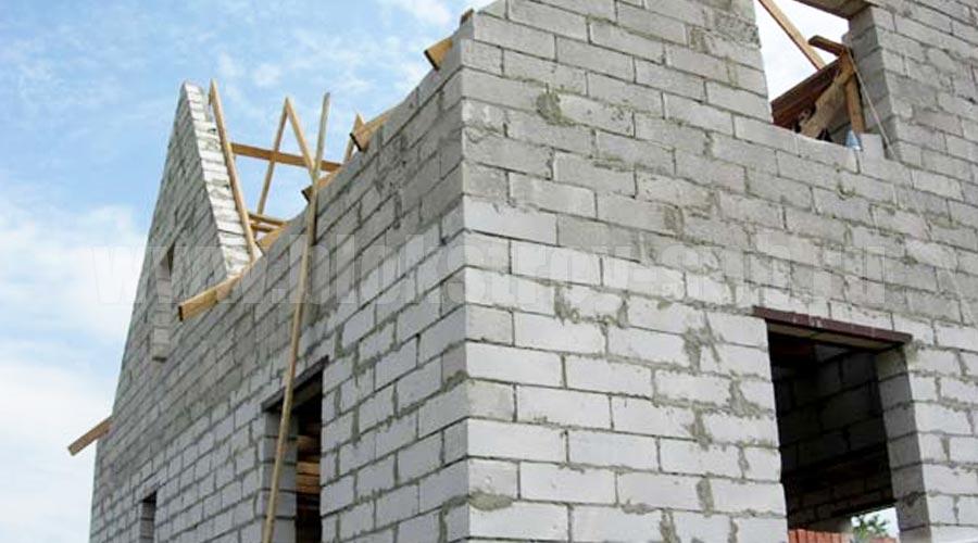 строительство дома керамзитобетонными блоками