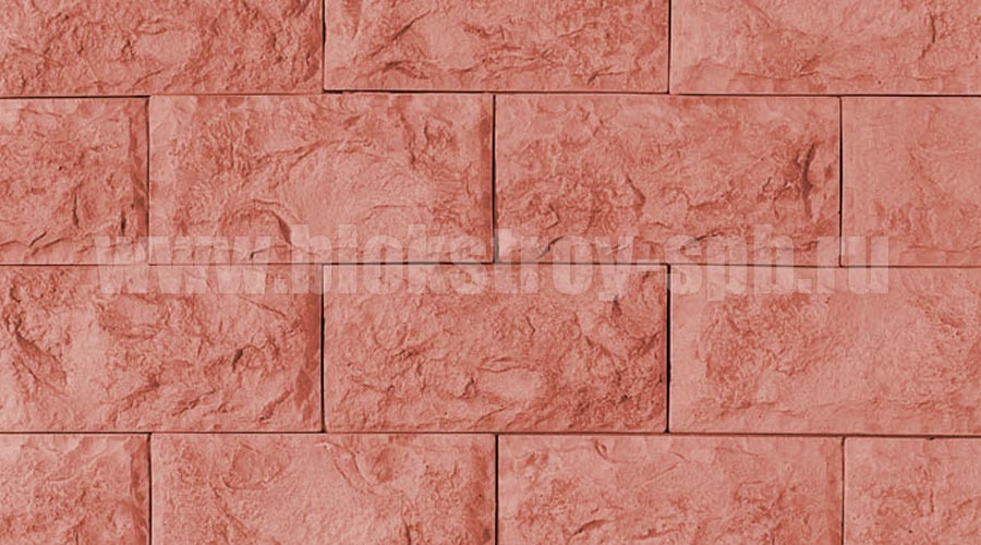 фасад облицованный красной плиткой