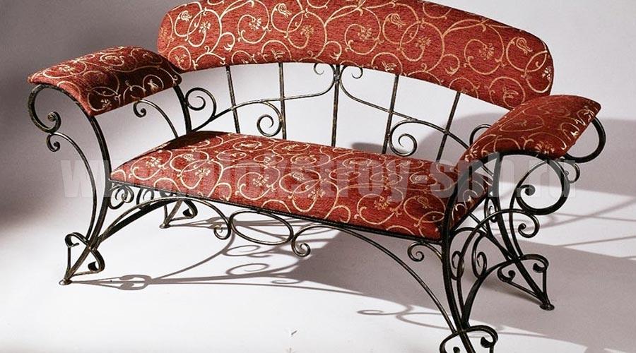 кованый диван