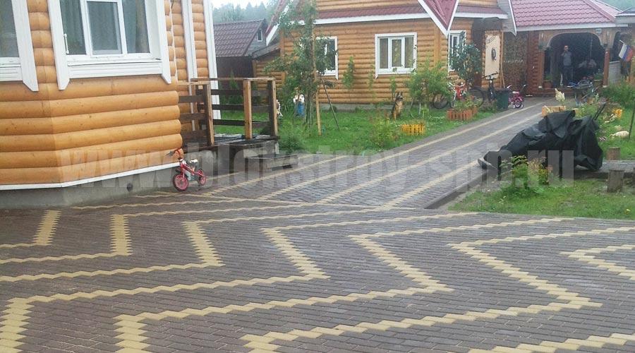покрытие для двора